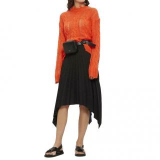 Acne Studios Wool Blend Islie Handkerchief Skirt