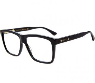 Gucci Black Square Optical Glasses