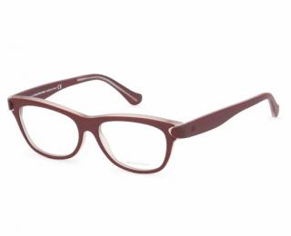 Balenciaga Women's BA5025 Burgundy Glasses