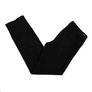 Dior Black Cotton Blend Denim Jeans