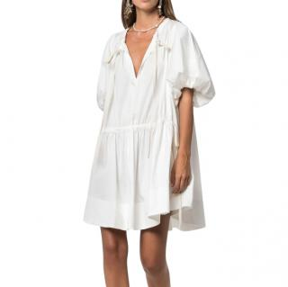 Lee Matthews Elsie White Tunic Dress