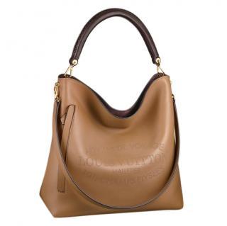 Louis Vuitton Brown Bagatelle Hobo Bag