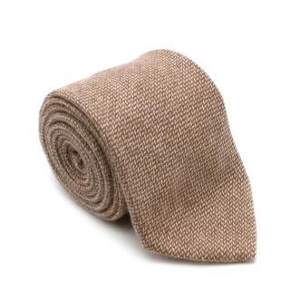 E. Marinella Cashmere Knit Tie