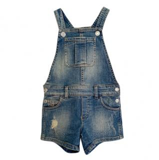 Gucci Distressed Denim Kids 4Y Dungarees