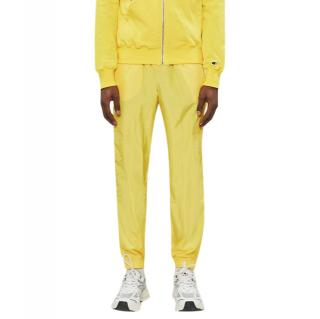 Champion x Rick Owens Lemon Yellow Logo Embroidered Shell Joggers