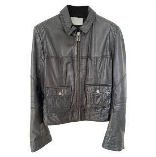 Zadig & Voltaire Black Leather Jacket