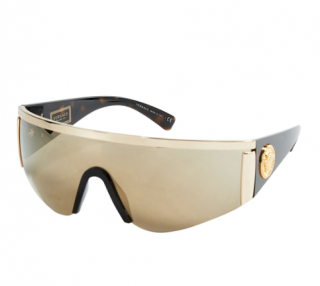 Versace Tribute Gold Sport Aviator Sunglasses