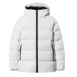 Jil Sander for Uniqlo J+ White Matte Down Coat