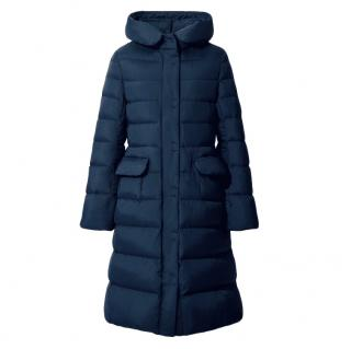 Jil Sander for Uniqlo J+ Blue Down Hooded Coat