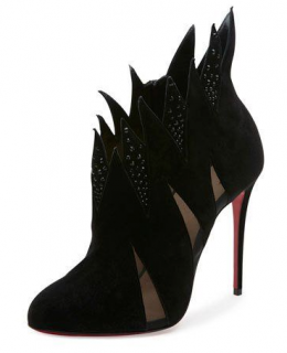 Christian Louboutin Folletteria Flame 100mm Booties