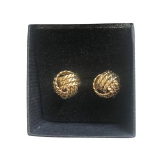 Bespoke Vintage Pleated Monet Earrings