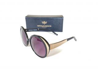 Nathalie Fordeyn Onyx/Poppy Linen Sunglasses