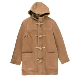 Burberry Kids Beige Wool Duffle Coat
