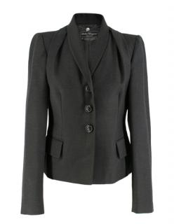 Salvatore Ferragamo Grey Button down Jacket
