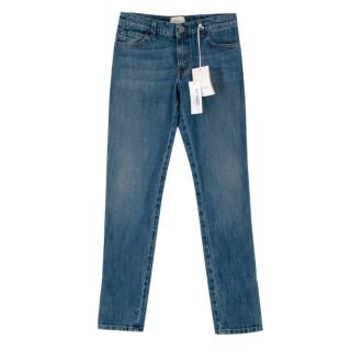 Gucci Kids 10Y Blue Cotton Denim Classic Jeans