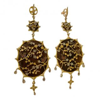Annoushka 18ct Yellow Gold Limited Edition Dream Catcher Earrings