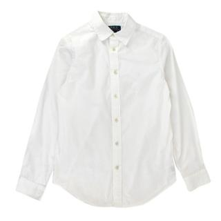 Ralph Lauren Polo White Cotton Long Sleeve Top