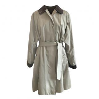 Burberry's Oversize Trench Coat