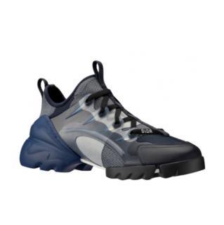 Dior Blue Denim D-Connect Sneakers