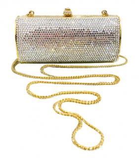 Judith Leiber Crystal Embellished Minisudiere Crossbody bag