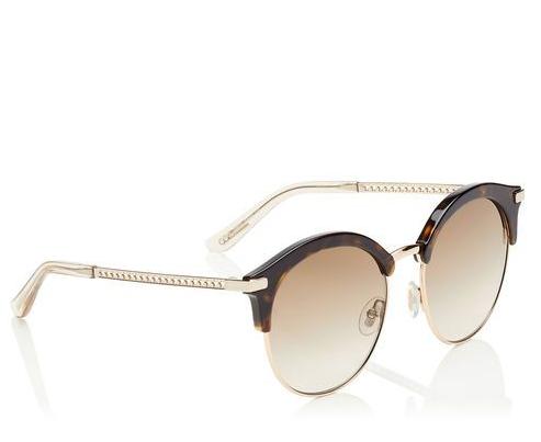 Jimmy Choo Havana/Gold Sunglasses