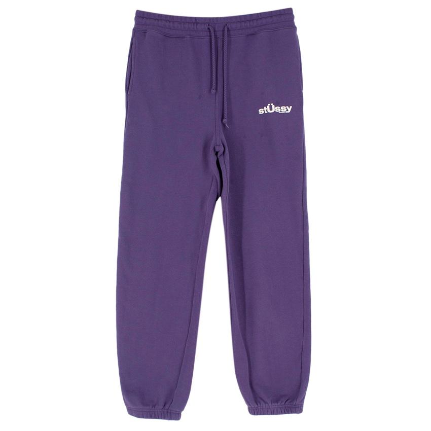 Stussy Purple Cotton Blend Joggers