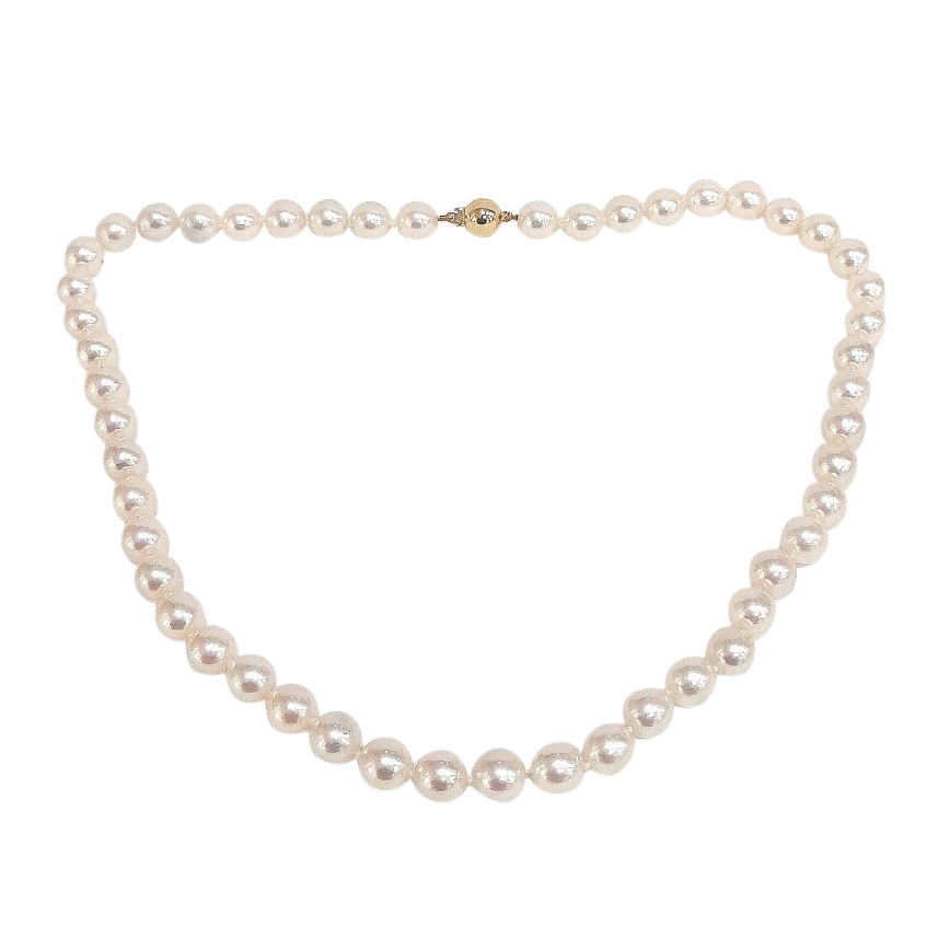 Boodles Pearl Necklace 18ct Clasp