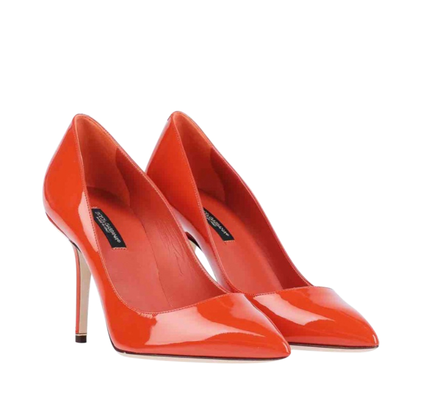 Dolce & Gabbana Red Patent Leather Pumps