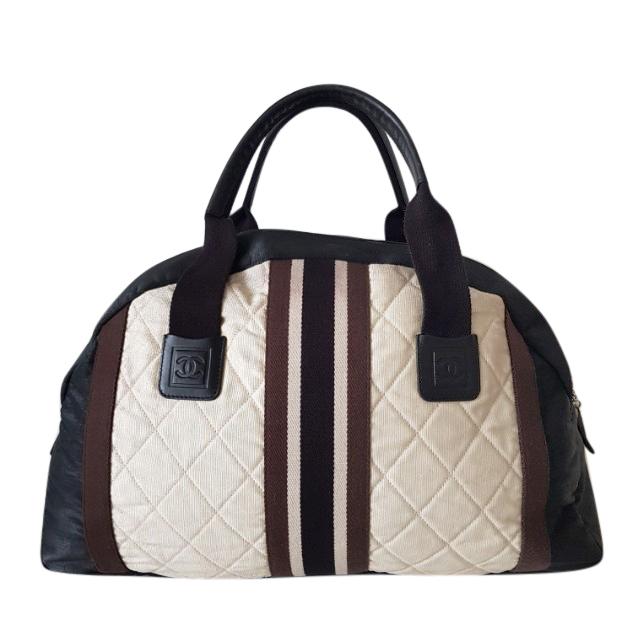 Chanel Vintage Boston Sports travel bag