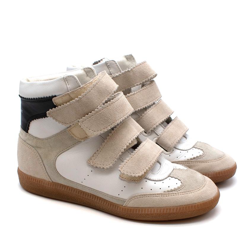 Isabel Marant Bekett High Top Sneakers