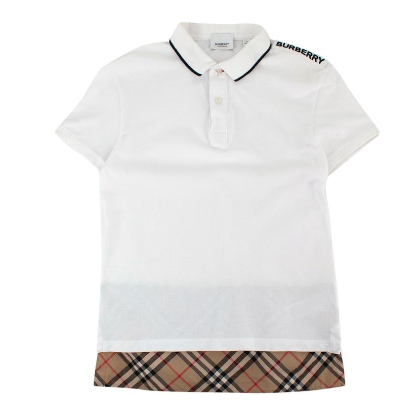 Burberry Kids Hammond Polo Shirt