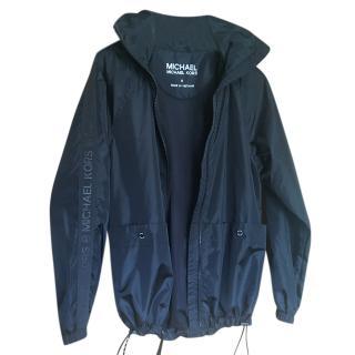Michael Michael Kors Black Rain Jacket