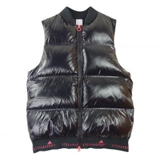 Stella McCartney x Adidas Black Down Gilet