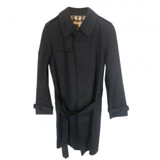 Burberry Navy Men's Trench Coat