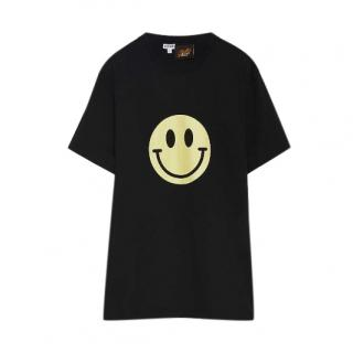 Loewe x Smiley Black Cotton T-shirt - Sold Out Ltd Edition