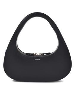 Coperni Black Baguette Swipe Bag