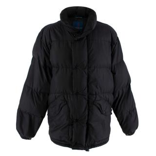 Moncler Black Quilted Down Jacket