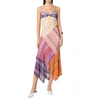 Peter Pilotto Multi Coloured Lame Knit Dress