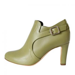 Rupert Sanderson Green Jocasta Ankle Boots