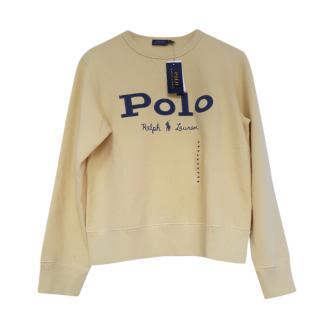 Polo Ralph Lauren Yellow Logo Sweatshirt