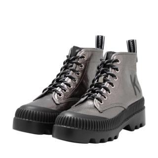 Karl Lagerfeld Brushed Trekka Hiking Boots