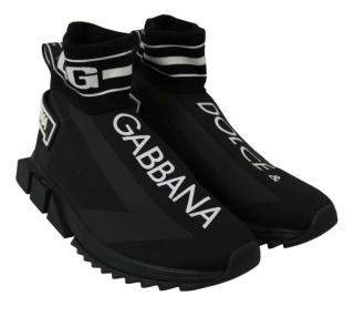 Dolce & Gabbana Black & White Mens Trainers