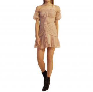 Keepsake The Label Serene Mini Dress - Gold