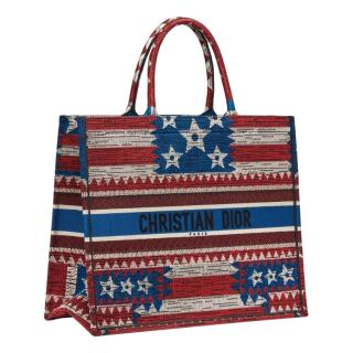 Dior Limited Edition US Flag Book Tote