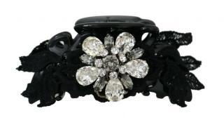 Dolce & Gabbana Lace & Crystal Hair Clip