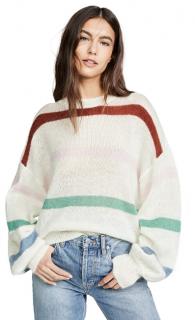 Anine Bing Lydia Striped Sweater