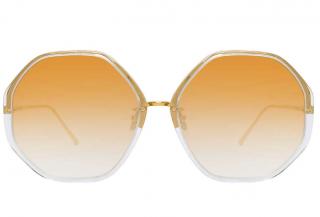 Linda Farrow Alona C9 Oversized Sunglasses