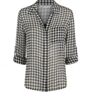 Diane von Furstenberg Lorelei Two Gingham Shirt