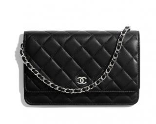 Chanel Lambskin Classic Wallet On Chain