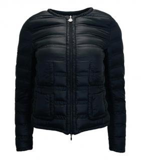 Moncler black lightweight goose down Lissy Jacket